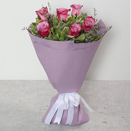 Bouquet Of Purple Roses BH: Send Gifts to Bahrain