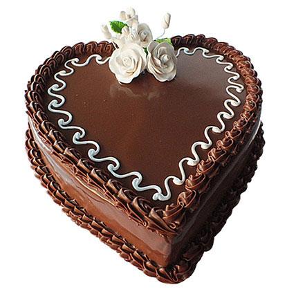 Choco Heart Cake BH: Send Cakes to Bahrain