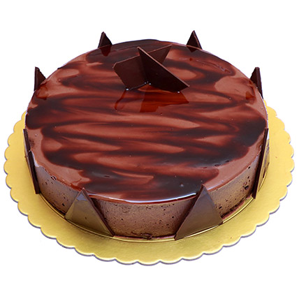 Delight Chocolate Ganache Cake: Send Cakes to Bahrain