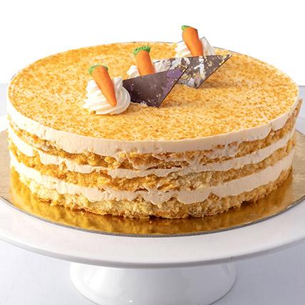 4 Portions Carrot Cake:  Cakes Half Kg
