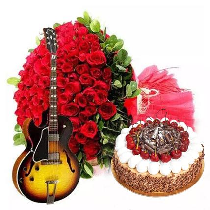 An Experience of Wonder: Flowers & Guitarist Service