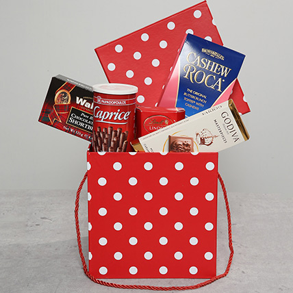 Chocolate and Roll Hamper: Christmas Gifts