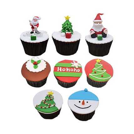 Christmas Cupcakes: Christmas Cupcakes