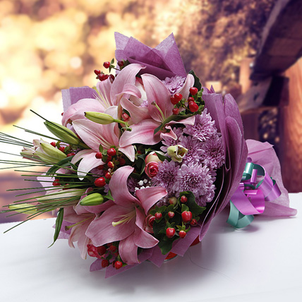 Colors of Charm: Flower Bouquets to Dubai