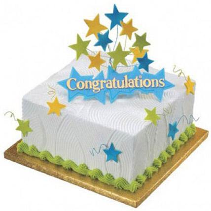 Congratulations Cake: Designer Cakes  Delivery