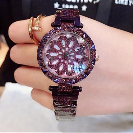 Czech Crystal Purple Watch: Watches