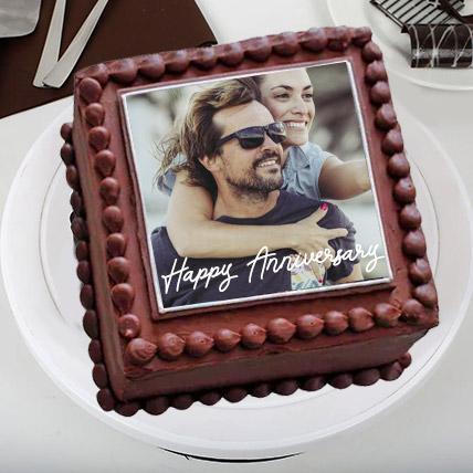Enticing Love Photo Cake: Photo Cakes