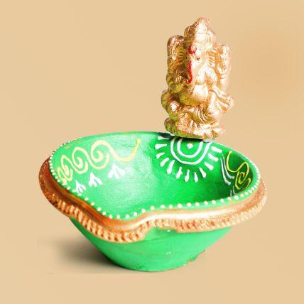 Ganesha Diya: Diwali Diyas