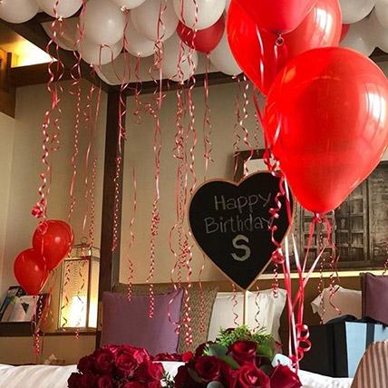 Illustration Of Love: Balloon Decorations