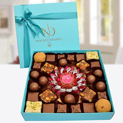 Indian Sweets And Chocolates Box: Diwali Chocolates