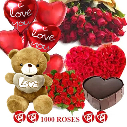 Lost in Love: Roses And Teddies