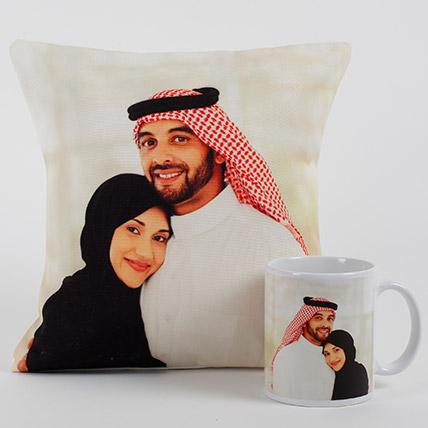 Lovable Personalized Cushion N Mug: Personalised Cushions