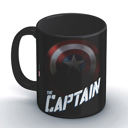 Marvel Captain America The Captain Coffee Mug: Unique Gifts