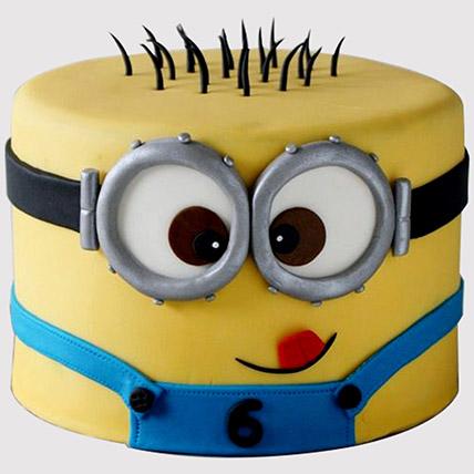 Minion Themed Cake: Minion Cakes