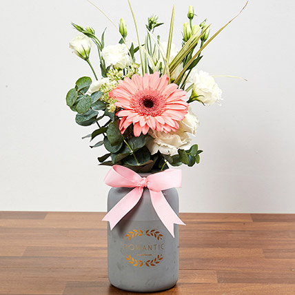 Pretty Arrangement Of Pink and White Flowers: Congratulations Flowers