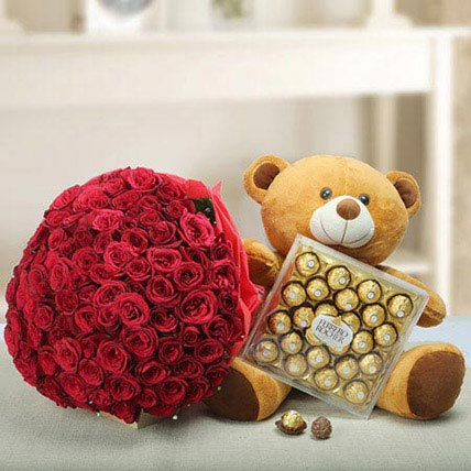 Say U Care: Mothers Day Flowers & Teddy Bears
