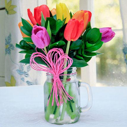 Tulip Arrangement: Tulips Flowers