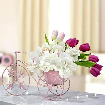 Falling in a Love: Tulips Bouquet