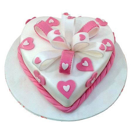 Soft Plush: Heart Shaped Cakes