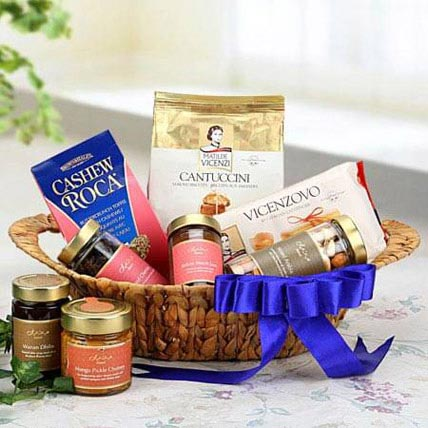 The Blue Allure: Mothers Day Dry fruit Hampers