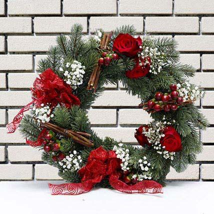 Shooting Star Wreath: Christmas Wreaths