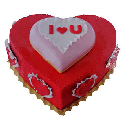 Valentine Heartshape Cake: Heart Shaped Cakes