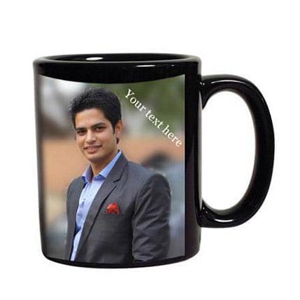 Personalised Photo Mug: Personalised Anniversary Mugs