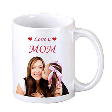Coffee Time Personalised For Mum: Mothers Day Mugs