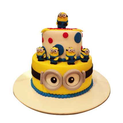 World of Minions Cake: Cartoon Cakes for Kids