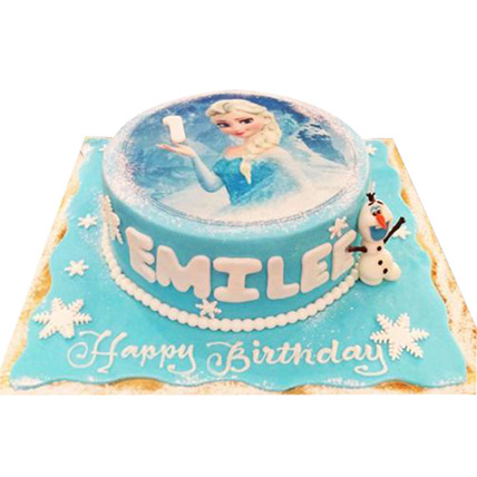 Elsa The Frozen Princess Cake: Princess Cakes