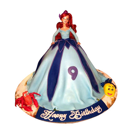 Lovely Doll Cake: Cinderella Cakes