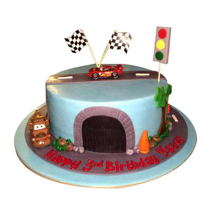 Cartoon Cars Cake: Car Cakes