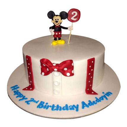 Mickey Cartoon Cake: Mickey Mouse Cakes