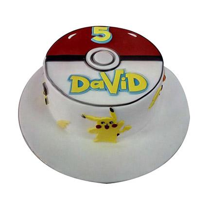Classic Pokemon Cake: Pokemon Cakes