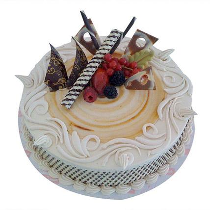 New Mocha Cake: Designer Cakes for Anniversary