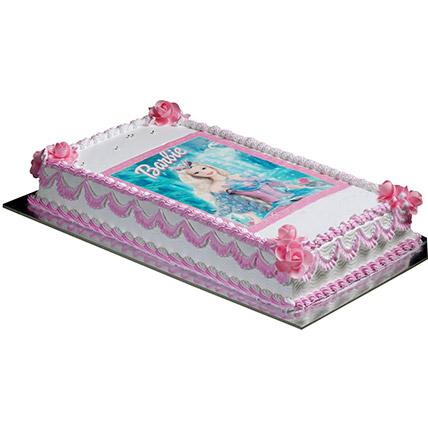 Cute Barbie Cake: Barbie Cakes