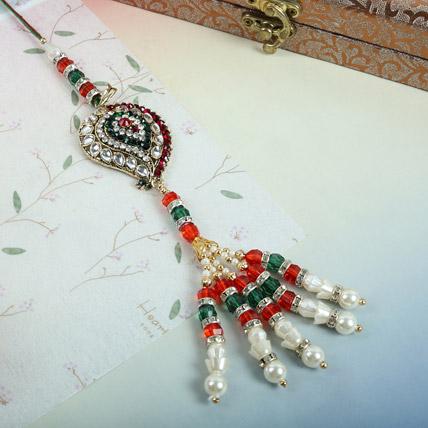 Bejeweled Lumba Rakhi: Lumba Rakhi