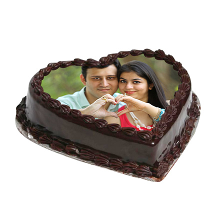 Cake From The Heart: Heart Shaped Cake Delivery