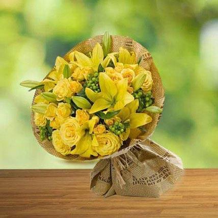 Sunshine love: Thank You Flowers