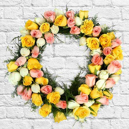 Wreath Of Roses: Home Decor Items