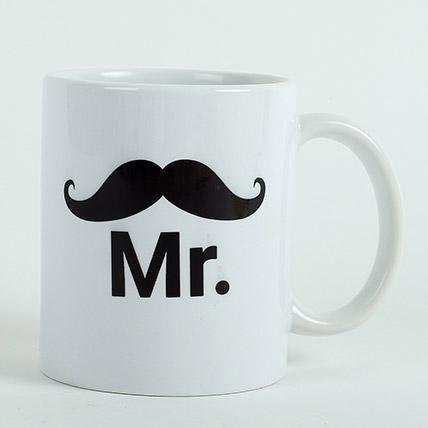 Mr Ceramic Mug: Personalised Mugs