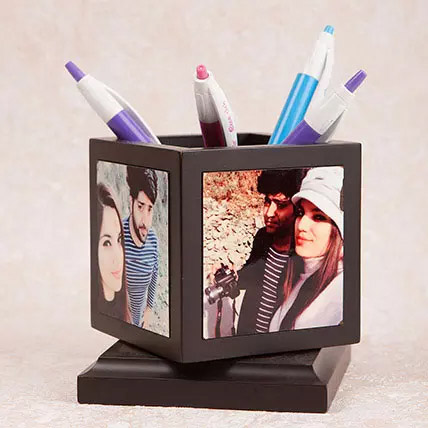Personalized Pen Holder: Personalised Anniversary Gifts