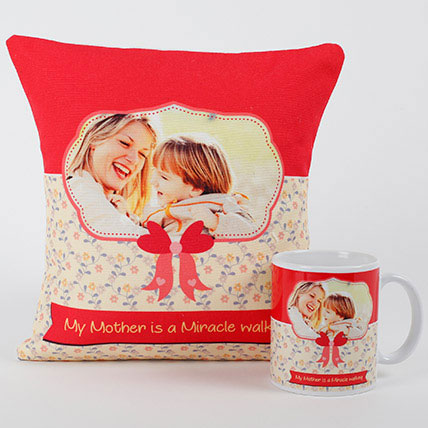 Mom Special Personalized Combo: Mothers Day Cushions