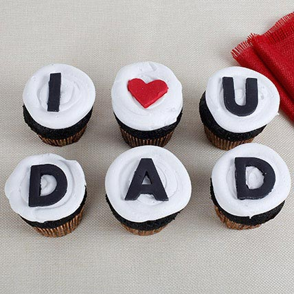 I Love You Dad Cupcakes: Fathers Day Cakes