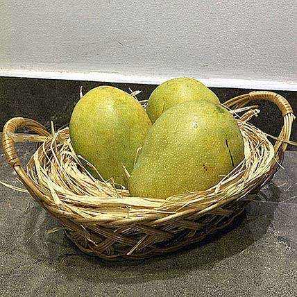 Mango Badami 1kg: Fruit Baskets