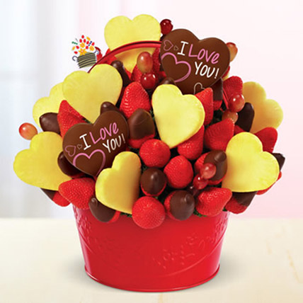 Be Mine Bouquet: Thank You Flowers