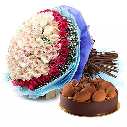 Perfect Present: New Year Flowers & Cakes