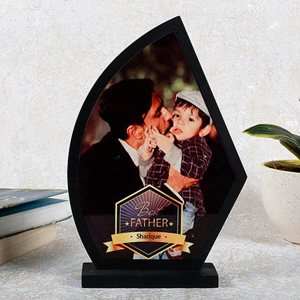 Personalized Wooden Trophy For Dad: Personalised Gifts to Ajman