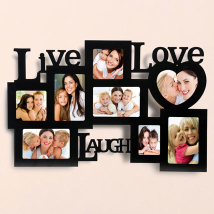 Live Love Laugh Photo Frame: Personalised Gifts to Ras Al Khaimah