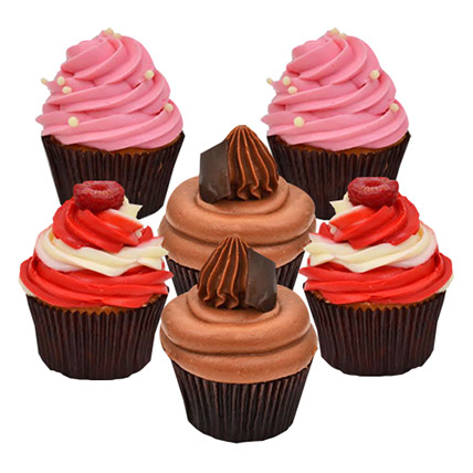 Six Yummy Cupcakes: Order Cupcakes